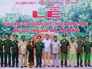 Dak Nong, Dak Lak build patrol route