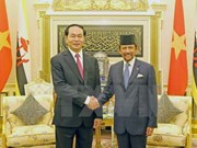 Congratulations to Bruneian Sultan on 50 years of reign