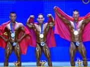 Vietnam has gold at world bodybuilding championships