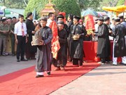 Thai Binh: Dong Bang temple festival named national heritage
