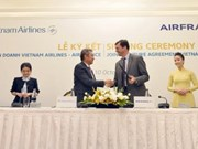 Vietnam Airlines, Air France sign joint venture deal