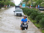Heavy rains slam central region