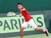 Vietnamese tennis player qualifies for Thailand F8 quarters