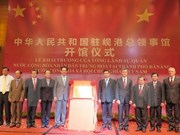 China's Consulate General opens in Da Nang