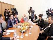 Top legislator meets IPU President in Saint Petersburg