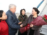 NA Chairwoman arrives in Astana for Kazakhstan visit