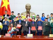 Hanoi honours 10 outstanding young people