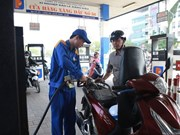Petrol price falls slightly
