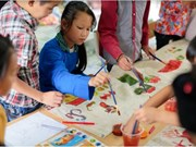 Exhibition features ethnic minority kids' art