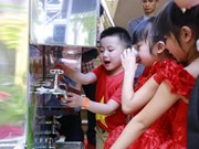 Samsung Vietnam funds water filters for schools in Bac Giang