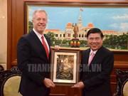 US Ambassador bids farewell to HCM City leaders