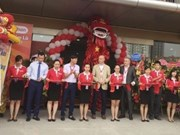 New Auchan supermarket opens in Hanoi