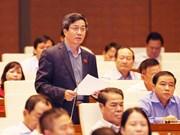 Legislators debate depositors' interests, bank restructuring personnel