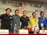 Vietnam gear up for semi-finals of AFF futsal champs
