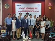 Vietnamese students get Samsung Korean Scholarships