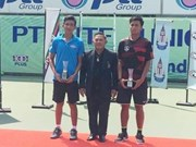 Vietnamese tennis player wins title in Thailand