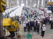 Hoa Sen opens largest plant in central region