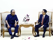 Deputy PM Vu Duc Dam receives AFC President