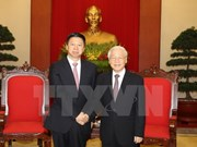 Party chief receives Chinese leader's special envoy