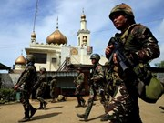 Philippine police arrest Indonesian militant in Marawi