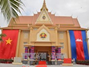 Vietnam builds library, meeting hall for Cambodian army