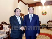 Vietnam-Laos information-communications cooperation applauded