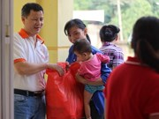 Organisation provides aid for flood victims in Hoa Binh