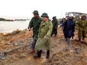 Deputy PM inspects Phu Yen's preparedness for Typhoon Damrey