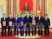 Rank of Ambassador bestowed upon diplomats
