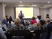 Seminar talks aquaponics industry in Vietnam, Australia