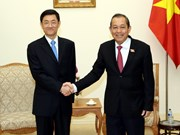 Deputy PM receives Chinese deputy minister of state security