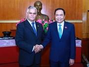 Vietnam, Cuba foster bilateral friendship