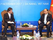APEC 2017: PM hosts Japanese Minister of Economic Revitalisation