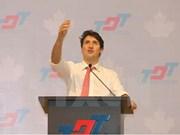 Canadian PM Trudeau meets HCM City students