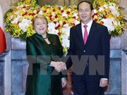 Vietnam, Chile Presidents discuss measures to forge bilateral ties