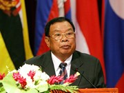 Lao President offers sympathies to Vietnam over typhoon damage