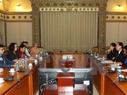 Australian Political Exchange Council's delegation welcomed in HCM Cit