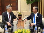President promises optimal conditions for Singaporean investors