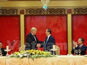 President hosts banquet in honour of US President