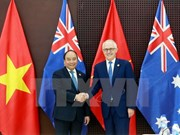 Outcomes of VN, Australia PMs' talks announced