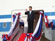 Chinese President visits Laos