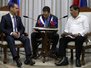 Philippines, Russia vow to boost trade, military partnership