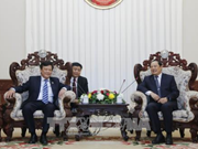 Lao Deputy PM lauds Vietnam home affairs ministry's support