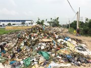 Domestic rubbish keeps piling up