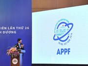 Website, logo of 26th Asia-Pacific Parliamentary Forum launched