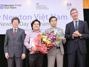 Vietnamese researchers win prestigious 2017 Newton Prize