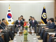 Deputy Prime Minister Truong Hoa Binh on RoK visit