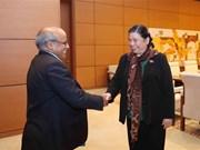 NA Vice Chairwoman meets UNICEF representative in Vietnam
