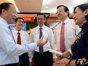 HCM City leaders hear teachers' concerns