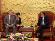 Austrian trade union visits Vietnam to boost ties